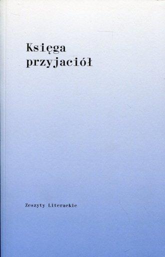Księga przyjaciół dla Barbary Toruńczyk