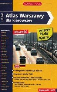 Atlas Warszawy dla kierowców Skala 1:20 000