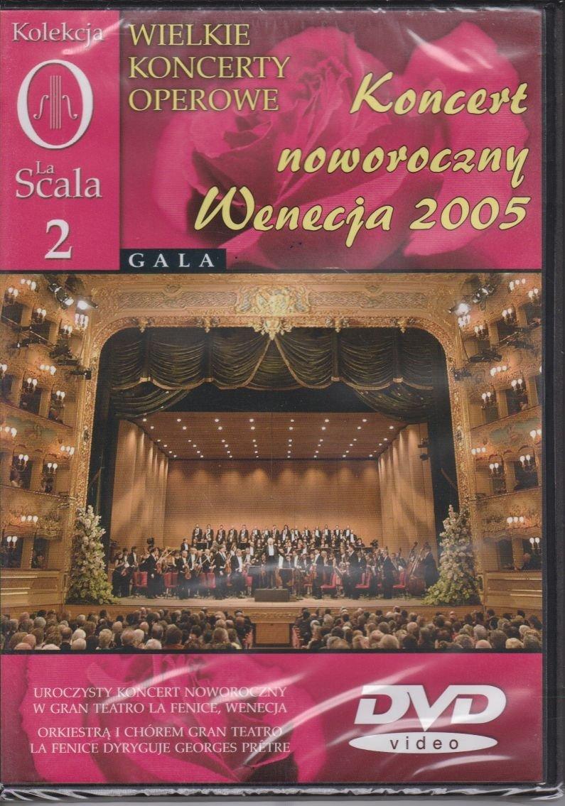 Wielkie koncerty operowe cz. 2 Koncert noworoczny Wenecja 2005 DVD