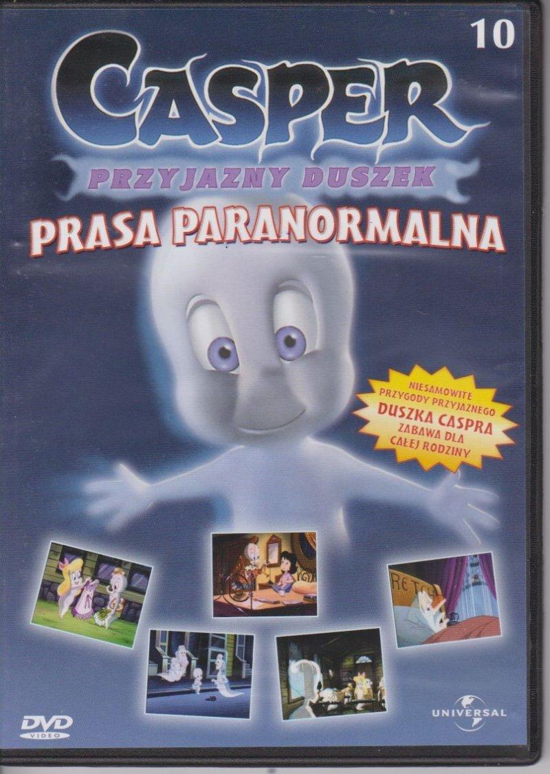 Casper Przyjazny Duszek Prasa Paranormalna cz.10 DVD