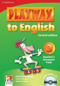 Playway to English 3 Teacher's Resource Pack + CD Garan Holcombe Gunter Gerngross Herbert Puchta