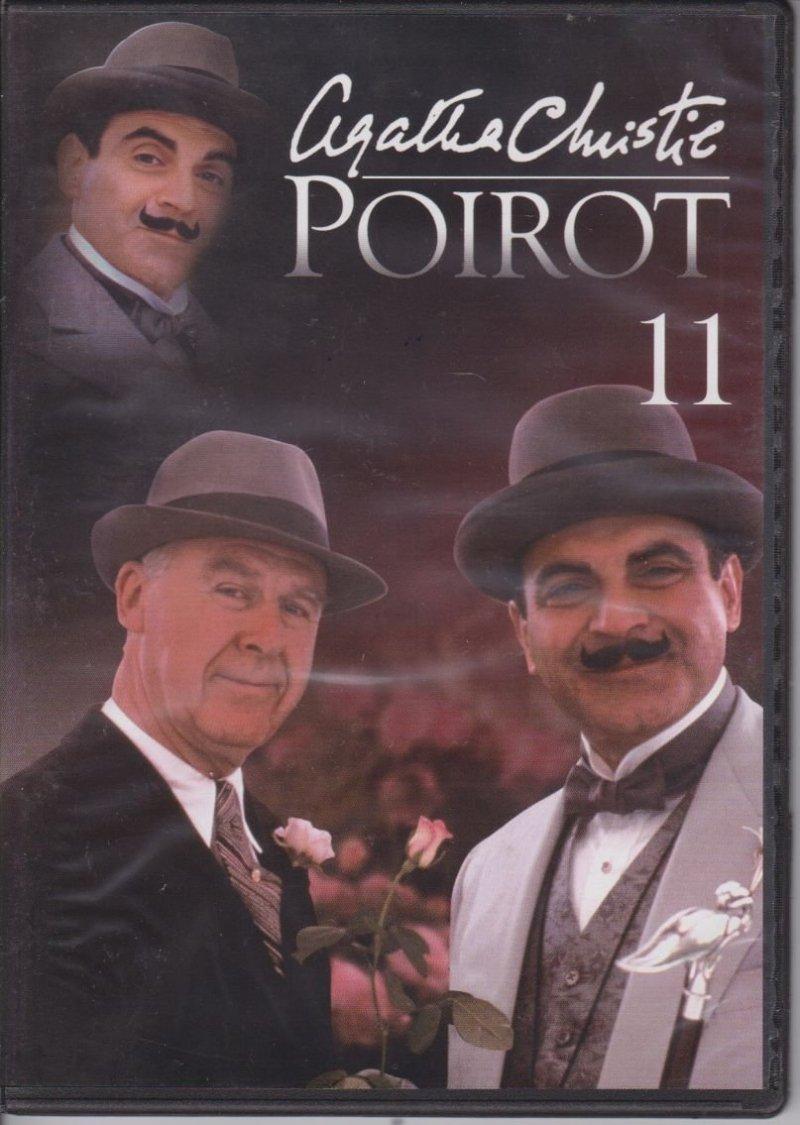 Agatha Christie Poirot cz. 11 Co masz w swoim ogródeczku? Kradzież obligacji za milion dolarów DVD
