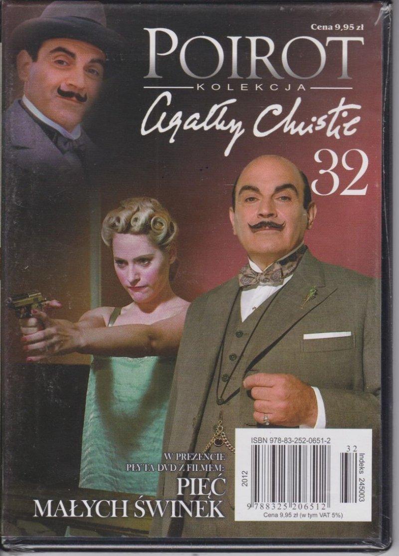 Agatha Christie Poirot cz. 32 Pięć małych świnek DVD