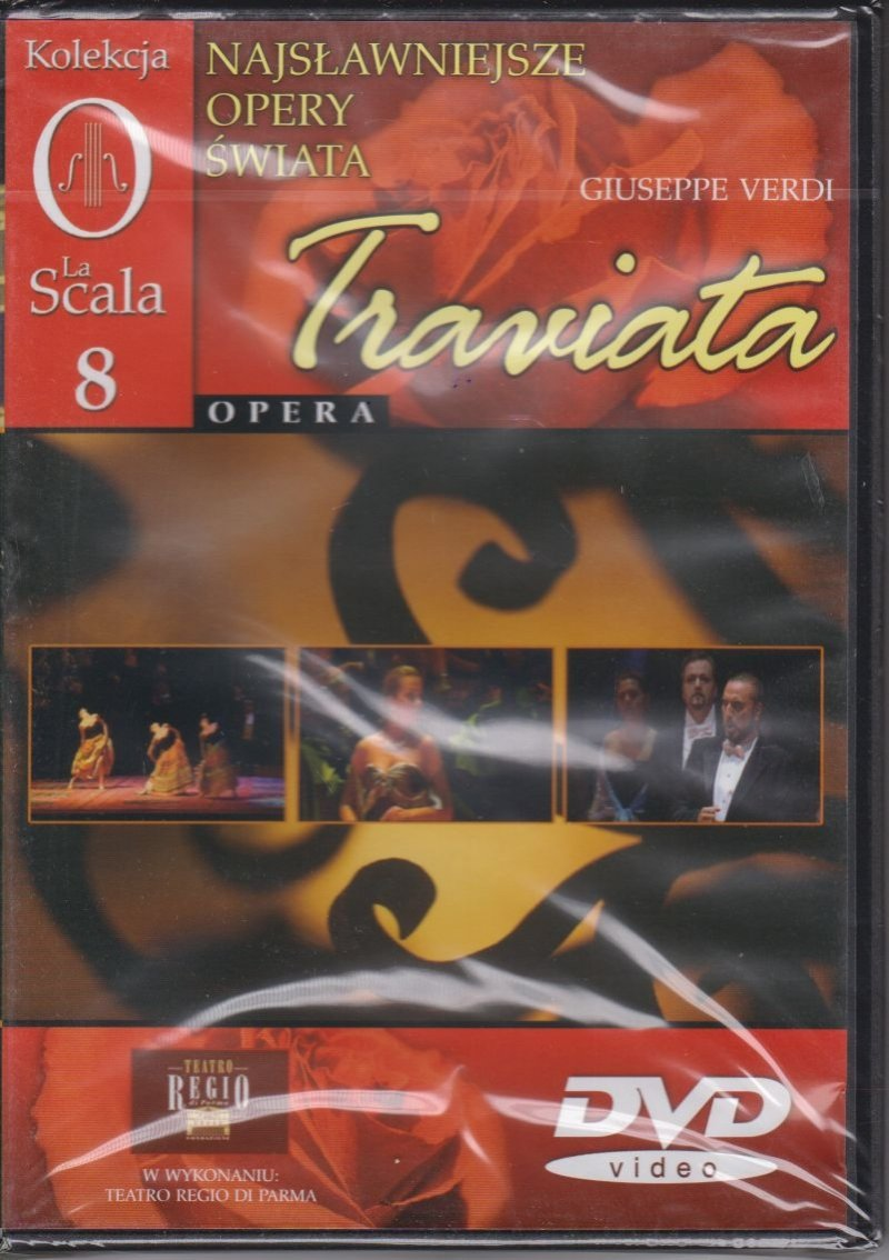 Najsławniejsze opery świata cz. 8 Traviata DVD