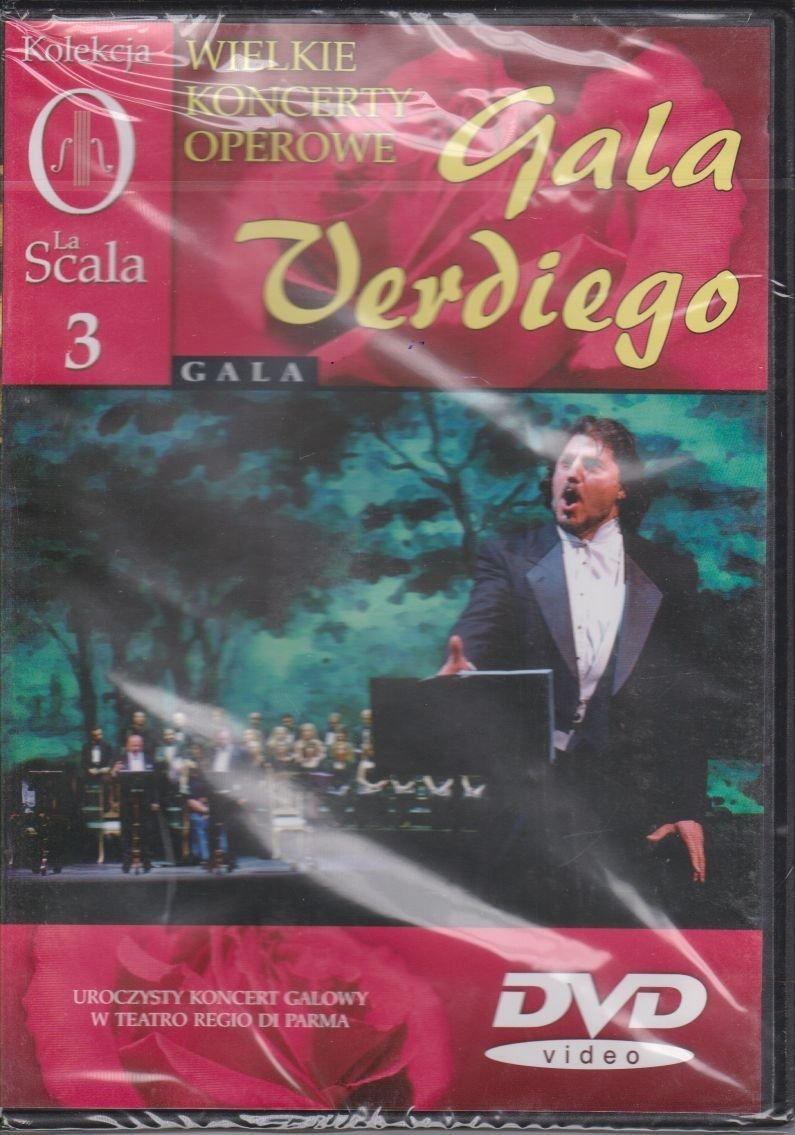 Wielkie koncerty operowe cz. 3 Gala Verdiego DVD