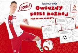 Piłkarskie plakaty do kolorowania Gwiazdy piłki nożnej