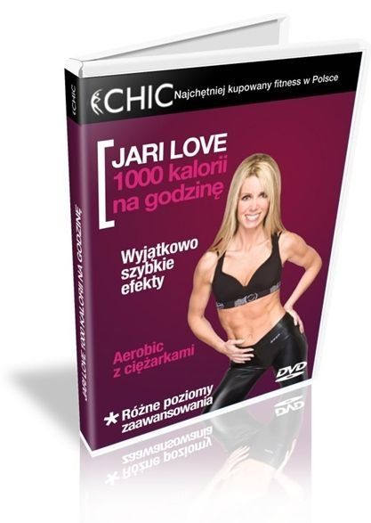Jari Love 1000 kalorii na godzinę DVD