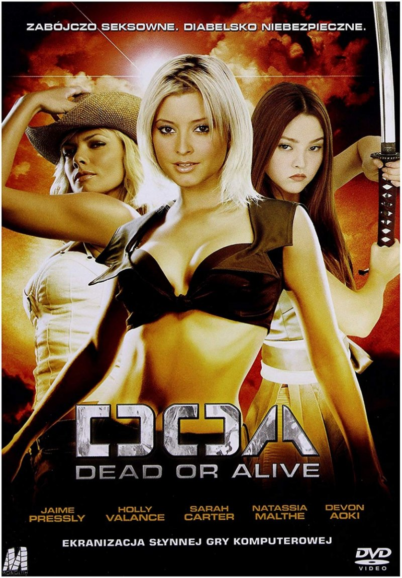 DOA Dead Or Alive DVD