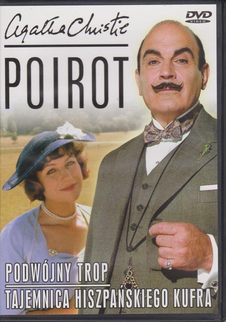 Poirot Agatha Christie cz. 15 Podwójny trop, Tajemnica hiszpańskiego kufra DVD