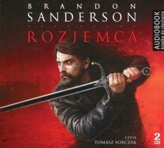 Rozjemca Brandon Sanderson Audiobook mp3 CD