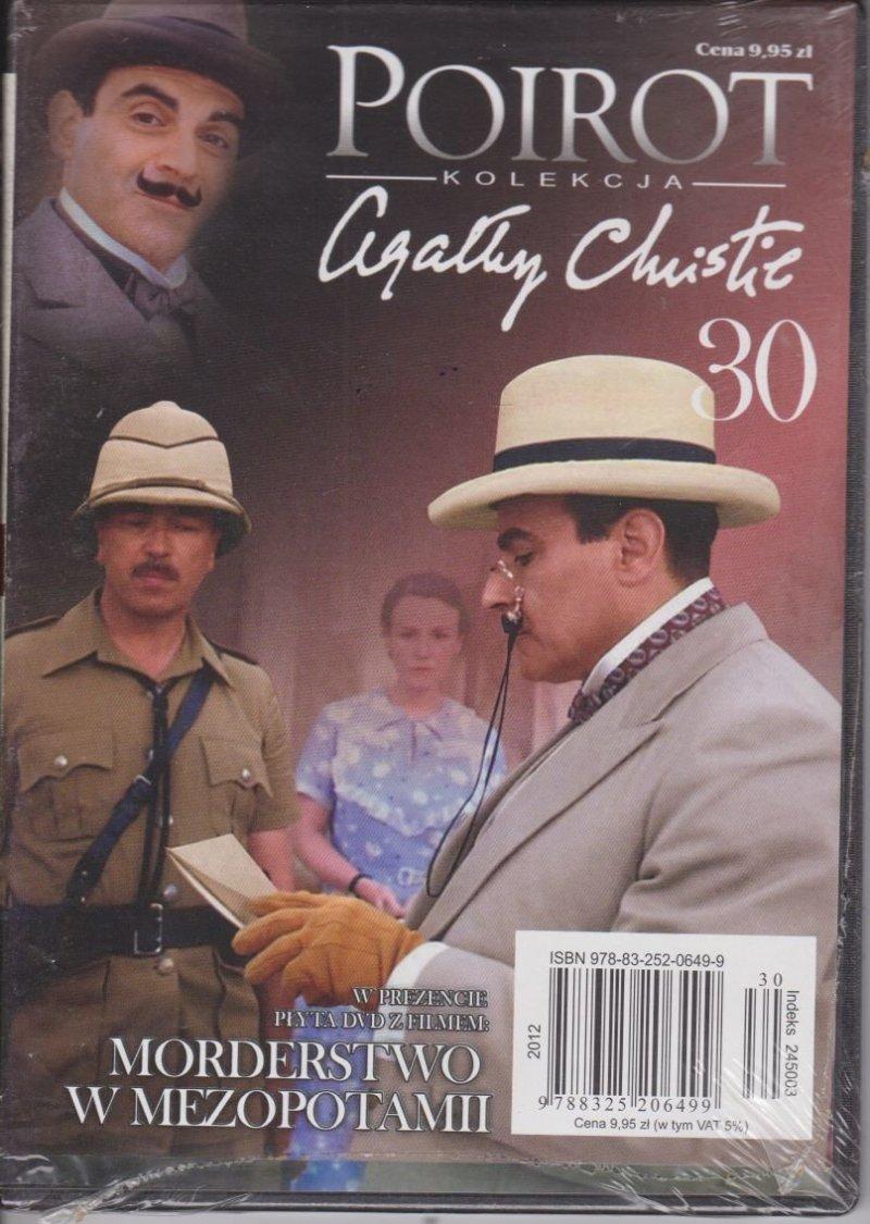 Agatha Christie Poirot cz. 30 Morderstwo w Mezopotamii DVD