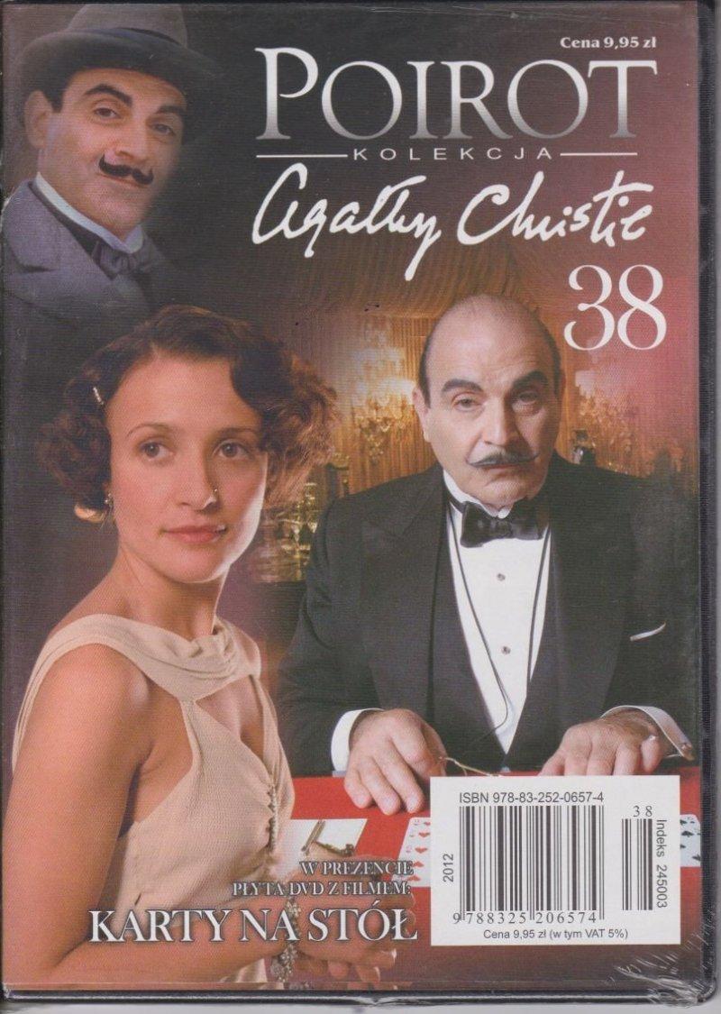 Agatha Christie Poirot cz. 38 Karty na stół DVD