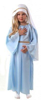 STRÓJ MARYJA 110 120 KOSTIUM PRZEBRANIE JASEŁKA
