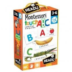 Montessori Alfabet Sensoryczny Angielski od 3 do 6 lat Headu