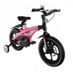 Rowerek Winner T201 Różowy Pompowane Koła 14 #D1