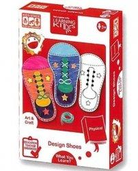 Learning Kids Układanka Edukacyjna - Projektowanie Butów