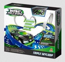 Wyścigi Samochodowe Wave Racers Potrójne Powietrzne Pętle