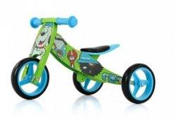 Rowerek 2w1 trójkołowy + biegowy Jake Bob #B1