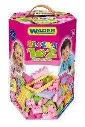 Klocki dla Dziewczynek 102 elementy Wader - 41291 #A1