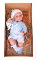 Hiszpańska lalka bobas chłopiec Mario - 45cm #T1