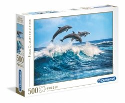 Puzzle Delfiny 500 elementów Clementoni