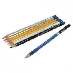 Kredki Trójkątne 15 Kolorów z Ołówkiem Kidea