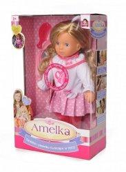Lalka Amelka Opowiada Bajkę Świecące Włosy i Torebka
