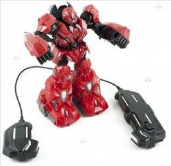 Robot Zdalnie Sterowany Rc Czerwony #E1