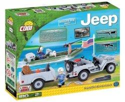 Jeep Willys Mb Nawy Klocki 180 elementów Cobi