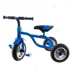 Rowerek trójkołowy 216 Niebieski Duże Koła #D1