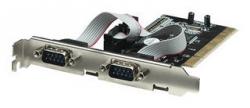 Kontroler MANHATTAN Serial PCI Card 2xRS-232 158213 2x RS-232