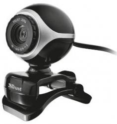 Kamera internetowa TRUST Exis Webcam Czarno-srebrny 17003