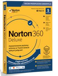 NORTONLIFELOCK 360 deluxe 50GB PL 1 user 5 device 12mo generic ret1 mm