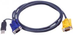 Kabel KVM ATEN 1.8m 2L-5202UP