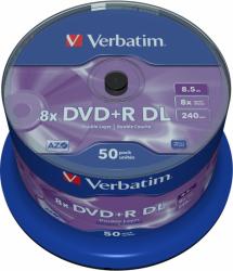 DVD+R DL VERBATIM 8.5 GB 8x Cake 50  szt.