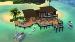 Gra The Sims 4: Wyspiarskie życie CZ (PC)