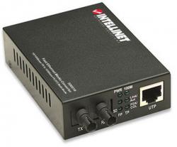 Intellinet Media konwerter 10/100Base-TX RJ45 / 100Base-FX (MM ST) 2km 1310nm