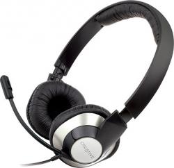 Słuchawki z mikrofonem CREATIVE Czarno-srebrny 51EF0410AA002