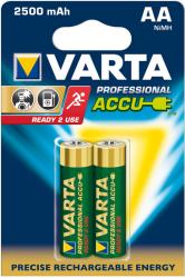 Baterie VARTA Niklowo-metalowo-wodorkowa AA (LR06, FR6, R6, 15A, MN1500, AM3, UM3, HP7) 2500mAh 2 szt. 5716101402