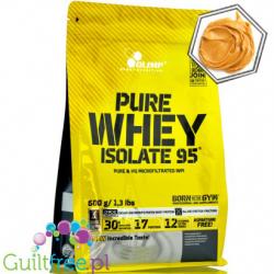 Pure Whey Isolate 95 peanut butter 600g (worek)