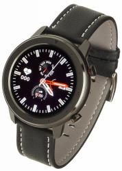 GARETT Smartwatch Men 5S black leather
