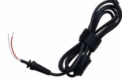 Kabel zasilający AKYGA Złącze wyjściowe 5.5 x 2.5 mm 1.2m. AK-SC-01