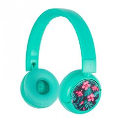 Słuchawki Bluetooth BT dla Nastolatków 85/94dB POP Turkus