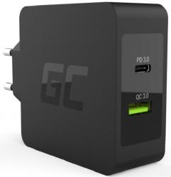 Ładowarka GREEN CELL CHAR08(1x USB 3.0 Typu C1500mA5V)
