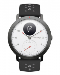 Withings Steel HR Sport - smartwatch z pomiarem pulsu (biały)