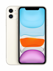 Smartphone APPLE iPhone 11 64 GB White (Biały) MHDC3PM/A