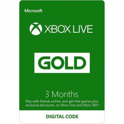 Xbox Live Gold 3 miesięce MICROSOFT S2T-00009