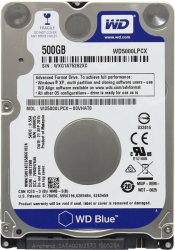 Dysk twardy WD WD Blue 500 GB 2.5 WD5000LPCX