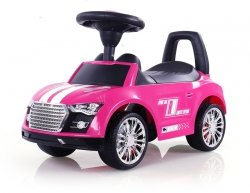 Jeździk Racer Różowy #B1