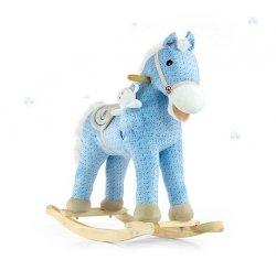 Koń na biegunach Bujak Pony Misiem  #B1